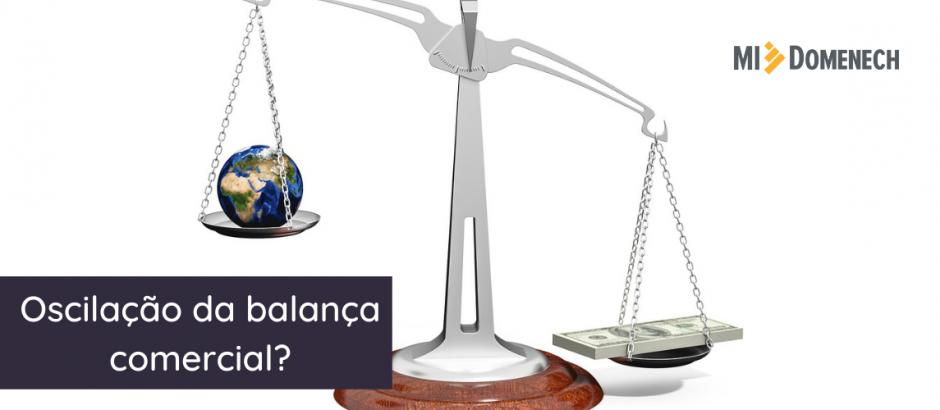 Oscilação da balança comercial_